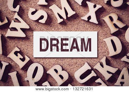 Dream Concept Word