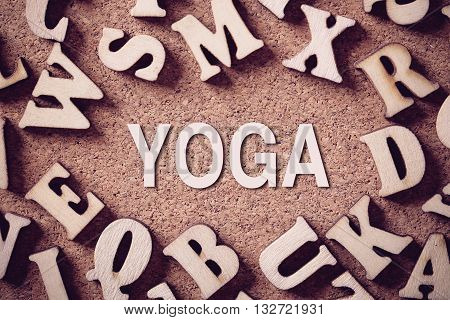 Yoga Concept Word