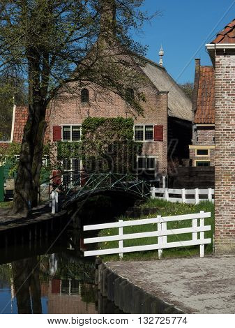 the small village of enkhuizen in the netherlands