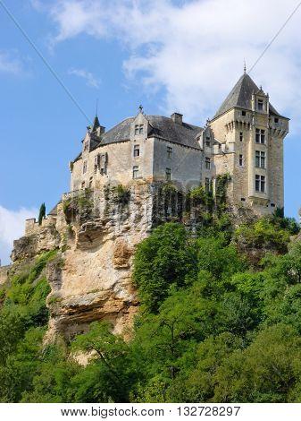 The Chateau de Montfort in France's Perigord region