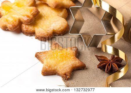 Close Up Of Cugar Cookies