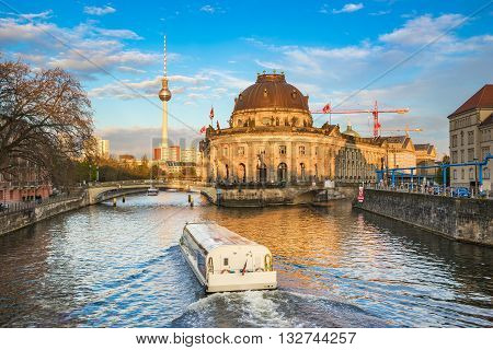The View Of Museum Island In Berlin Germany