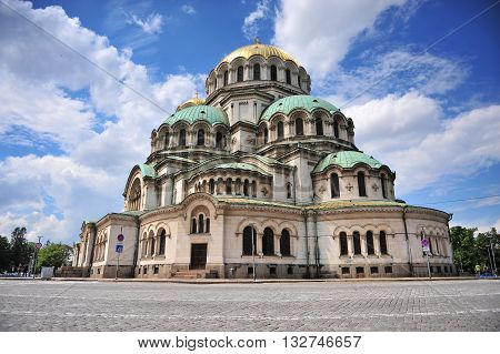Alexander Nevsky Cathedral in Sofia city, Bulgaria