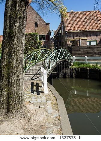 the nice City of enkhuizen in holland