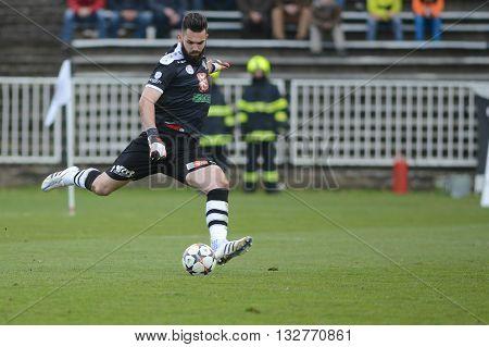 HRADEC KRALOVE 04/04/2015 _ Tomas Koubek. Match between FC Hradec Kralove and AC Sparta Praha