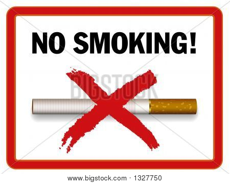No Smoking Area