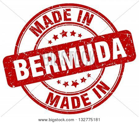 made in Bermuda red round vintage stamp.Bermuda stamp.Bermuda seal.Bermuda tag.Bermuda.Bermuda sign.Bermuda.Bermuda label.stamp.made.in.made in.