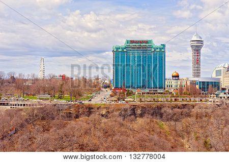 Cityscape In Ontario Near Niagara Falls