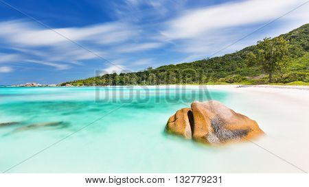 Anse Cocos Long Exposure, Seychelles