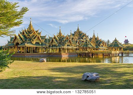 Pavilion of the Enlightened, Ancient Siam Thailand