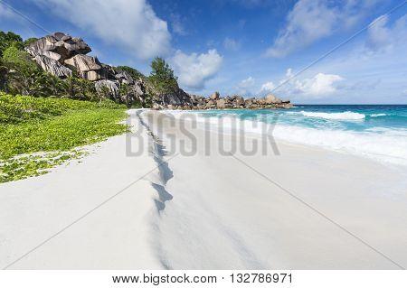Grand Anse, La Digue, Seychelles
