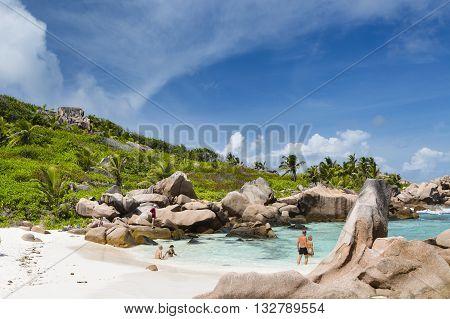 Anse Cocos, La Digue, Seychelles, Editorial