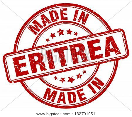 made in Eritrea red round vintage stamp.Eritrea stamp.Eritrea seal.Eritrea tag.Eritrea.Eritrea sign.Eritrea.Eritrea label.stamp.made.in.made in.
