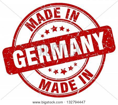 made in Germany red round vintage stamp.Germany stamp.Germany seal.Germany tag.Germany.Germany sign.Germany.Germany label.stamp.made.in.made in.