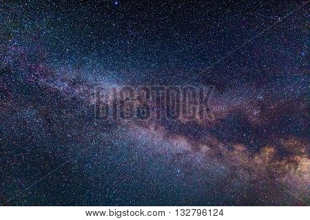 Milky Way In The Northern Hemisphere