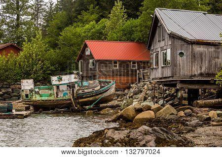 Rustic Alaskan Scene