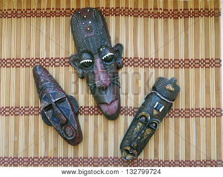 African mask used by the inhabitants of Africa African masks are a guide to the spirit world