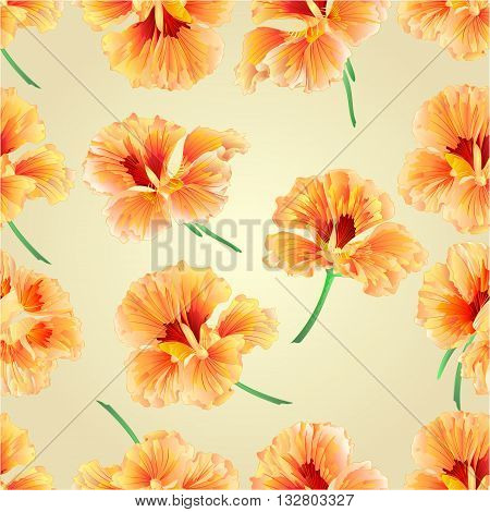 Spring flower watercress vegetable healthy food vector illustration