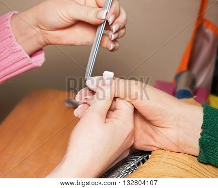 Build Artificial Nails, Manicure Nail Painting, Coating Or Shellac Gel Polish, Correction Of Artific