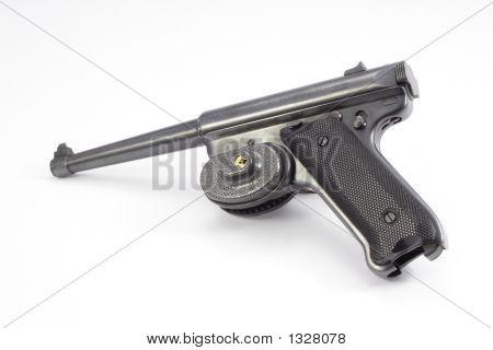 Pistol With Trigger Lock