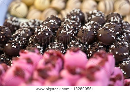 Sweets bulk specific for Hungary. Chocolate glaze