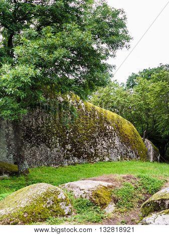 Large Stones Of Ancient Megaliths Beglik Tash