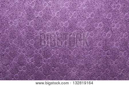 suede texture with ornament for background  decoration