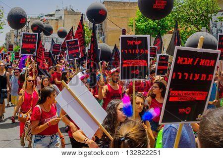 Tel-aviv Pride Parade 2016