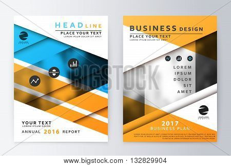 Annual Report Brochure. A4 Vector. Annual report design of the first and last page . Business brochure. Catalog Cover. Cover design Report Annual. sover design Report. Business sover design.