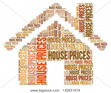 House Prices Indicates Charge Property And Cost