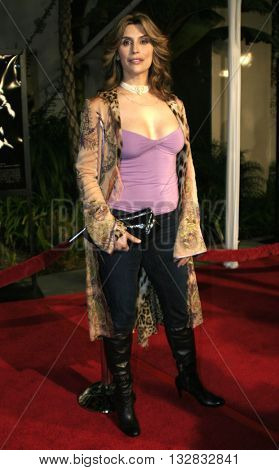 Jo Champa at the Los Angeles premiere of 'Ray' held at the Cinerama Dome in Hollywood, USA on October 19, 2004.