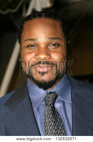 Malcolm-Jamal Warner at the Los Angeles premiere of 'Ray' held at the Cinerama Dome in Hollywood, USA on October 19, 2004.