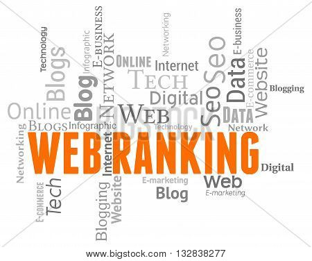 Web Ranking Shows Websites Top And Www
