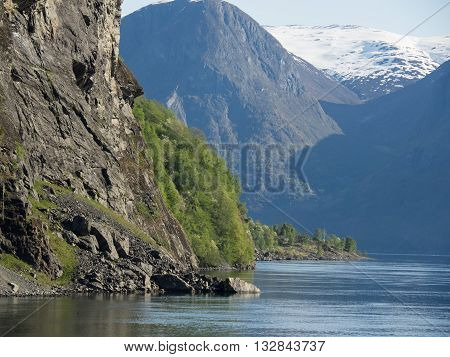 the small village of flam in norway