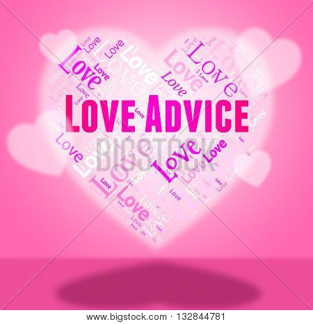 Love Advice Means Guidance Devotion And Faq