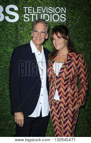 LOS ANGELES - JUN 2:  Scott Bakula, Chelsea Field at the 4th Annual CBS Television Studios Summer Soiree at the Palihouse on June 2, 2016 in West Hollywood, CA
