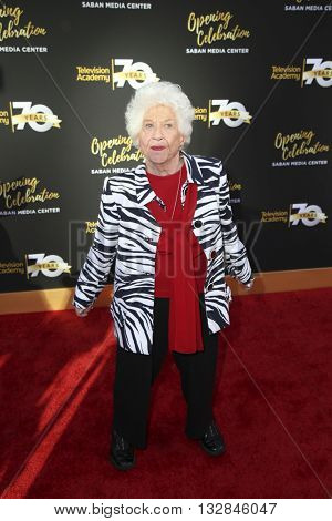 LOS ANGELES - JUN 2:  Charlotte Rae at the Television Academy 70th Anniversary Gala at the Saban Theater on June 2, 2016 in North Hollywood, CA