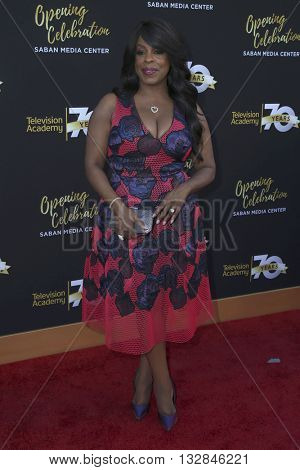 LOS ANGELES - JUN 2:  Niecy Nash at the Television Academy 70th Anniversary Gala at the Saban Theater on June 2, 2016 in North Hollywood, CA