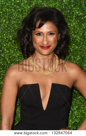 LOS ANGELES - JUN 2:  Sarayu Blue at the 4th Annual CBS Television Studios Summer Soiree at the Palihouse on June 2, 2016 in West Hollywood, CA