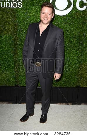 LOS ANGELES - JUN 2:  Harry Ford at the 4th Annual CBS Television Studios Summer Soiree at the Palihouse on June 2, 2016 in West Hollywood, CA