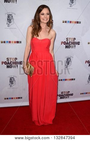 LOS ANGELES - MAY 25:  Rachel Boston at the Stop Poaching Now 2016 Gala at the Ago Restaurant, on May 25, 2016 in West Hollywood, CA
