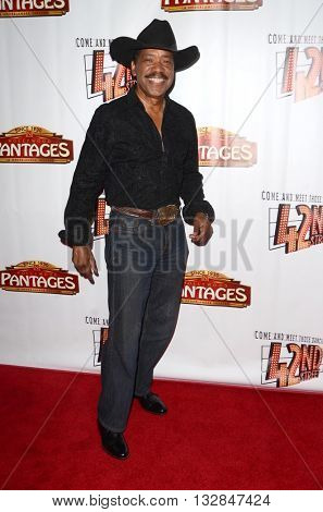 LOS ANGELES - MAY 31:  Obba Babatunde at the 42nd Street Play Opening at the Pantages Theater on May 31, 2016 in Los Angeles, CA