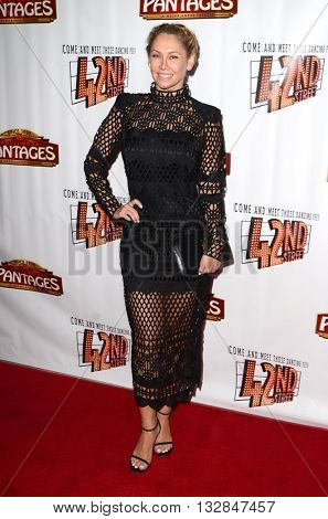 LOS ANGELES - MAY 31:  Kym Johnson at the 42nd Street Play Opening at the Pantages Theater on May 31, 2016 in Los Angeles, CA