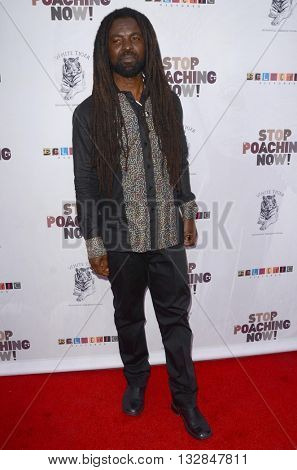LOS ANGELES - MAY 25:  Rocky Dawuni at the Stop Poaching Now 2016 Gala at the Ago Restaurant, on May 25, 2016 in West Hollywood, CA