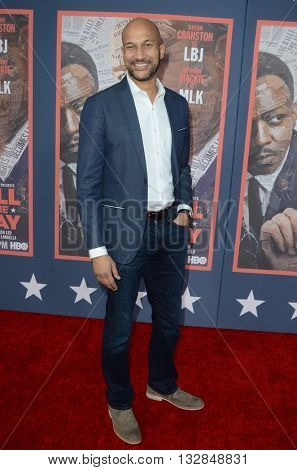 LOS ANGELES - MAY 10:  Keegan-Michael Key at the All The Way LA Premeire Screening at the Paramount Studios on May 10, 2016 in Los Angeles, CA