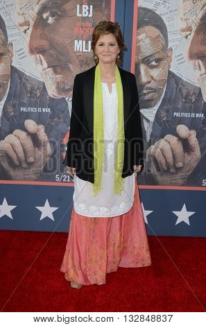 LOS ANGELES - MAY 10:  Melissa Leo at the All The Way LA Premeire Screening at the Paramount Studios on May 10, 2016 in Los Angeles, CA
