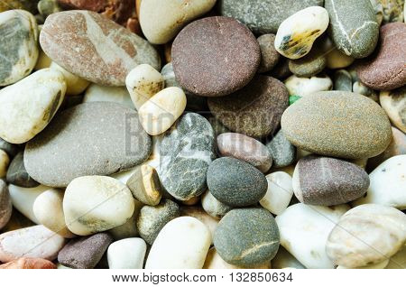 a background of a lot of pebbles