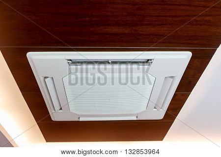 Dust On Luxury Air Condition In Hotel