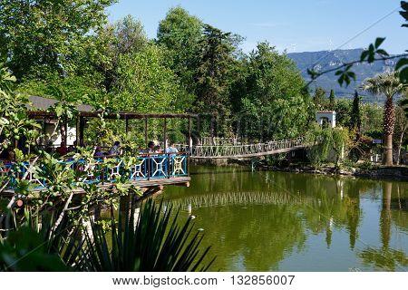 Natural Park With Lake