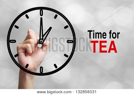 Time For Tea Concept